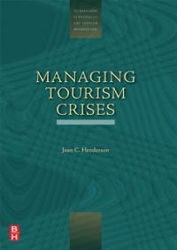 Cover Managing Tourism Crises