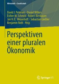 Cover Perspektiven einer pluralen Ökonomik