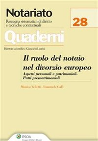 Cover Il ruolo del notaio nel divorzio europeo