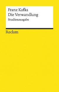 Cover Die Verwandlung. Studienausgabe