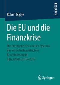 Cover Die EU und die Finanzkrise
