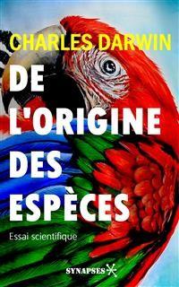 Cover De l'origine des espèces
