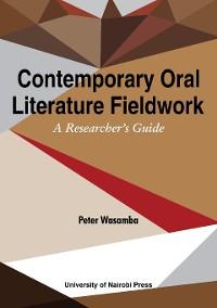 Cover Contemporary Oral Literature Fieldwork
