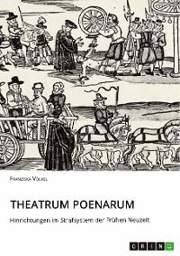 Cover Praktiken der Inszenierung im Theatri Poenarum. Hinrichtungen im Strafsystem des Alten Reichs