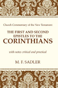 Cover The First and Second Epistle to the Corinthians