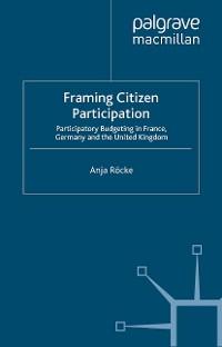 Cover Framing Citizen Participation