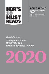 Cover HBR's 10 Must Reads 2020
