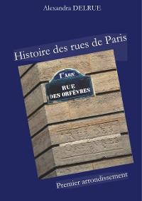 Cover Histoire des rues de Paris