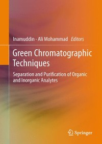 Cover Green Chromatographic Techniques