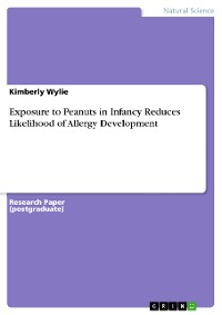Cover Exposure to Peanuts in Infancy Reduces Likelihood of Allergy Development
