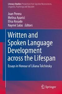 Cover Written and Spoken Language Development across the Lifespan