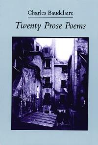 Cover Twenty Prose Poems