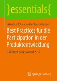 Cover Best Practices für die Partizipation in der Produktentwicklung