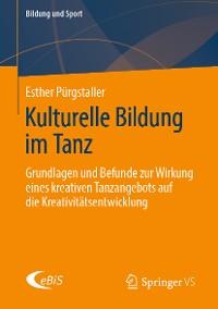 Cover Kulturelle Bildung im Tanz