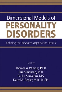 Cover Dimensional Models of Personality Disorders