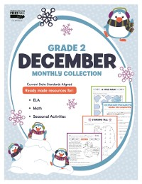Cover December Monthly Collection, Grade 2