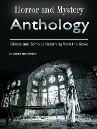 Cover Horror and Mystery Anthology
