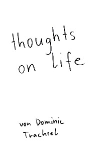 Cover thoughts on life