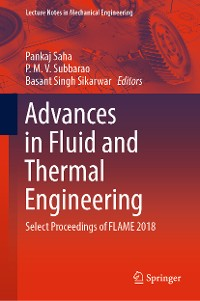 Cover Advances in Fluid and Thermal Engineering