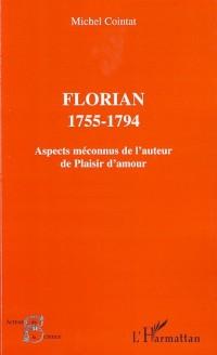 Cover Florian 1755-1794-Aspects meconnus de ..