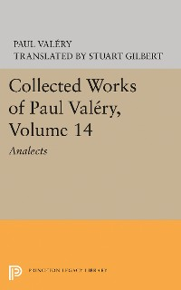 Cover Collected Works of Paul Valery, Volume 14