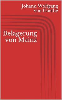 Cover Belagerung von Mainz