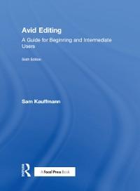 Cover Avid Editing