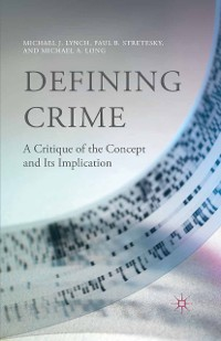 Cover Defining Crime