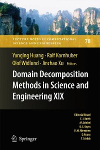 Cover Domain Decomposition Methods in Science and Engineering XIX