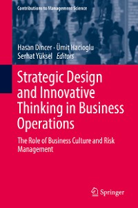 Cover Strategic Design and Innovative Thinking in Business Operations