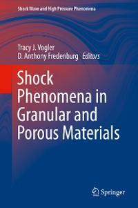 Cover Shock Phenomena in Granular and Porous Materials