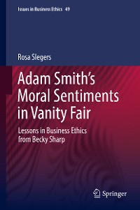 Cover Adam Smith's Moral Sentiments in Vanity Fair