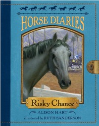 Cover Horse Diaries #7: Risky Chance