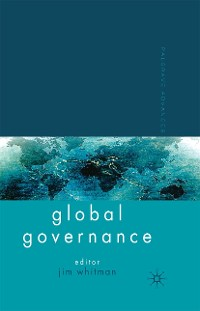 Cover Palgrave Advances in Global Governance