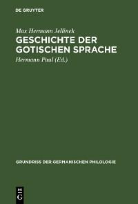 Cover Geschichte der gotischen Sprache