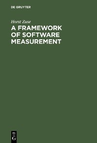 Cover A Framework of Software Measurement