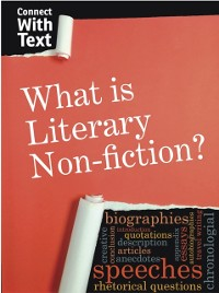 Cover What is Literary Non-fiction?