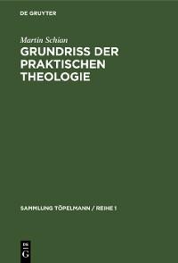 Cover Grundriss der praktischen Theologie