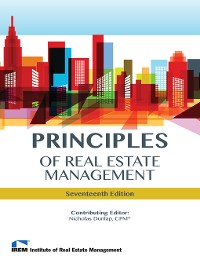 Cover Principles of Real Estate Management