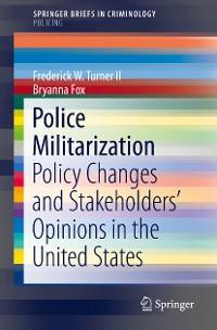 Cover Police Militarization