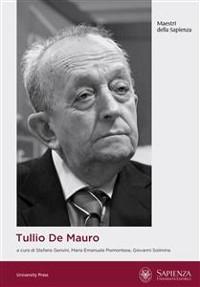 Cover Tullio De Mauro