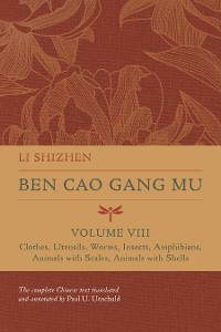 Cover Ben Cao Gang Mu, Volume VIII