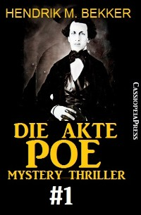 Cover Die Akte Poe #1 - Mystery Thriller