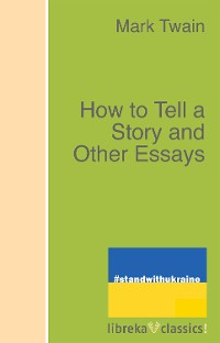 Cover How to Tell a Story and Other Essays