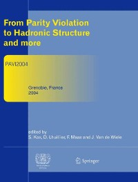 Cover From Parity Violation to Hadronic Structure and more