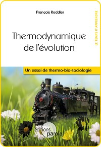 Cover Thermodynamique de l'évolution