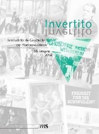 Cover Invertito. Jahrbuch für die Geschichte der Homosexualitäten / Invertito. 16. Jahrgang 2014