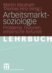 Cover Arbeitsmarktsoziologie