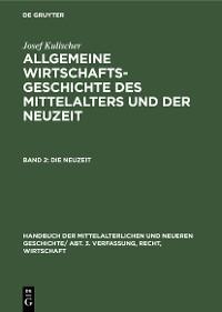 Cover Die Neuzeit
