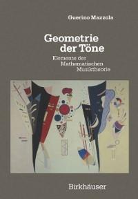 Cover Geometrie der Tone